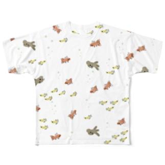 金魚まつり Full graphic T-shirts