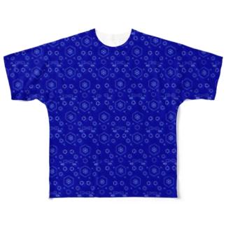 ベンゼンくん Full graphic T-shirts