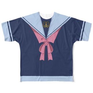制服Tシャツ Full graphic T-shirts