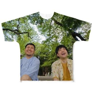 まだ主人公を諦めたわけではない(フルグラフィックTシャツ) Full graphic T-shirts