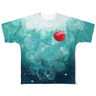 水中のソーダ All-Over Print T-Shirt
