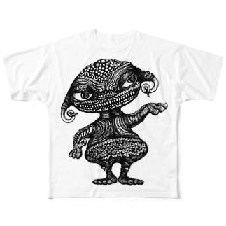どぐうちゃん Full graphic T-shirts