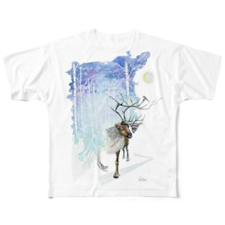 夢遊 Full graphic T-shirts
