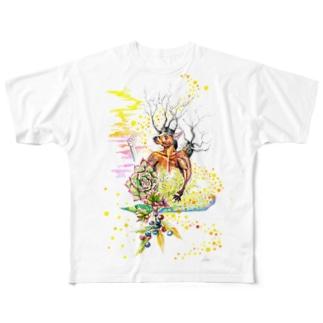 夢見 Full graphic T-shirts