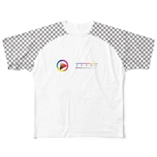 KATASUKASHI Full graphic T-shirts