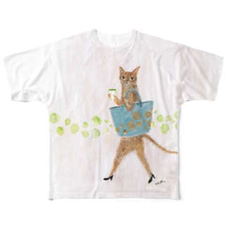bibi  catwoman Full graphic T-shirts
