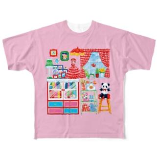ようこその部屋 Full graphic T-shirts