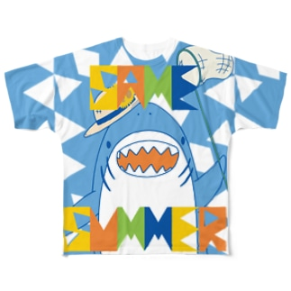 SAMEづくし_SUMMER Full graphic T-shirts