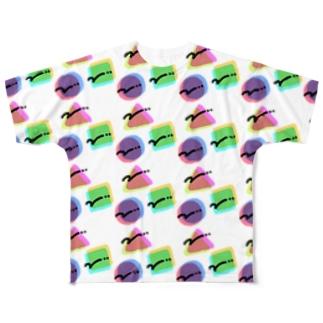 ○ △ □ Full graphic T-shirts