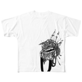 ごった返しTシャツ Full graphic T-shirts