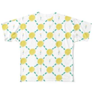 たんぽぽと少女。 Full graphic T-shirts