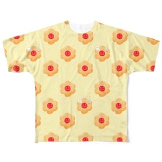3時のおやつ Full graphic T-shirts