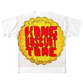 king biscuit time! Full graphic T-shirts