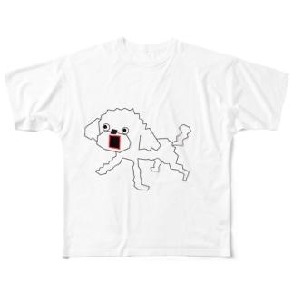 プリンセスぷー Full graphic T-shirts