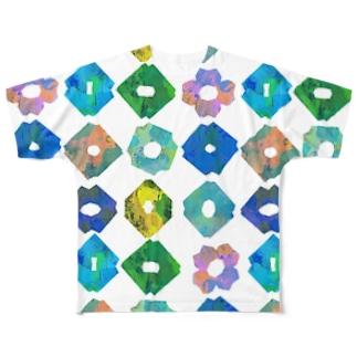 KIRIGAMI_typeA Full graphic T-shirts