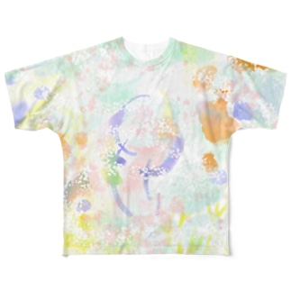 SPRANG FLOWERS Full graphic T-shirts