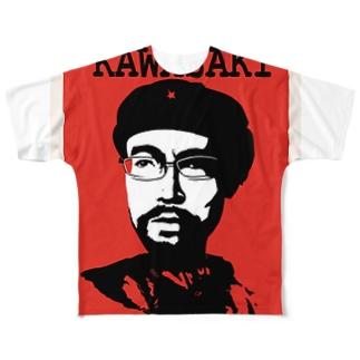 川崎陽平 Full graphic T-shirts