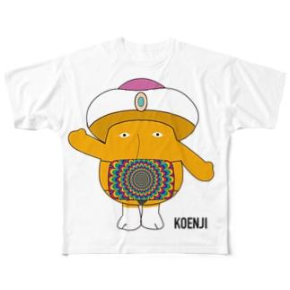 マスクデリーさん Full graphic T-shirts
