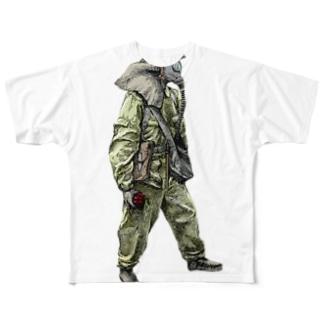 elephant Full graphic T-shirts