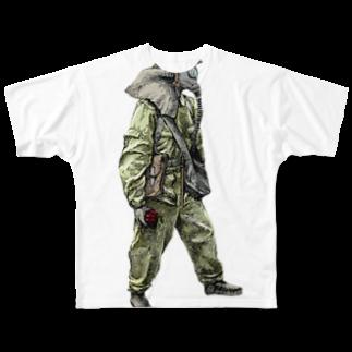 09のelephant Full graphic T-shirts