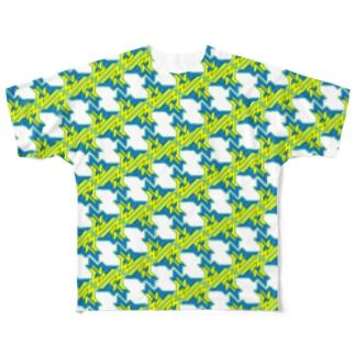 Tobayashi Kenichiro's Wandering of Maverick Full graphic T-shirts