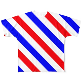 Barber Trico Full graphic T-shirts