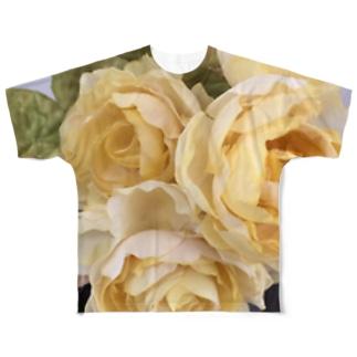 黄薔薇 Full graphic T-shirts