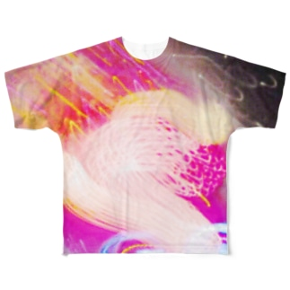 Fire Work Ⅲ(Science Light Remix) Full graphic T-shirts