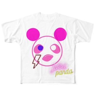 ふーふーパンダTシャツ Full graphic T-shirts