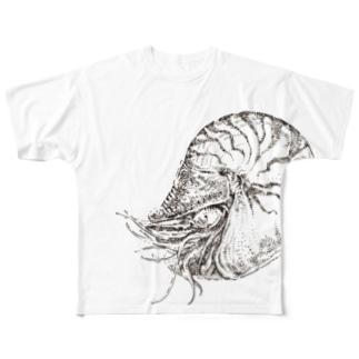 オウムガイ Full graphic T-shirts