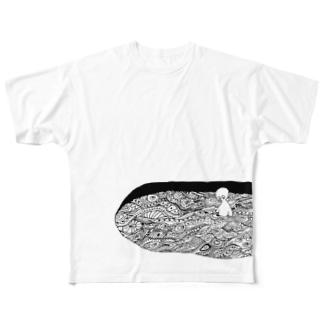 もようだまり Full graphic T-shirts