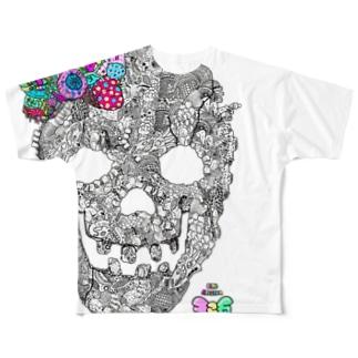 有坂愛海×326「グロスカルリボン」 Full graphic T-shirts