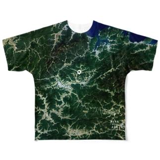 京都府 綾部市 Tシャツ 両面 Full graphic T-shirts