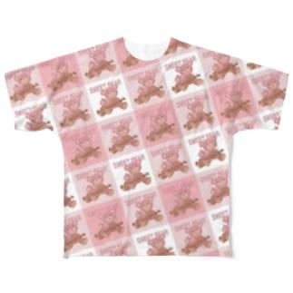 🐻SWEET BEAR🐻 Full graphic T-shirts