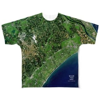 千葉県 山武郡 Tシャツ 両面 Full graphic T-shirts