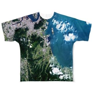 福岡県 京都郡 Tシャツ 両面 Full graphic T-shirts