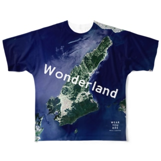 WEAR YOU AREの兵庫県 洲本市 Tシャツ 両面 Full graphic T-shirts
