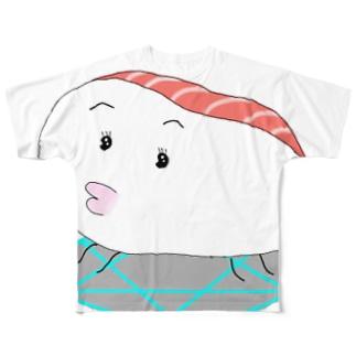魔界キュンキュングッズ🎵 Full graphic T-shirts