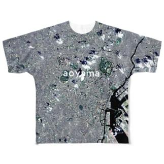 東京都 港区 Tシャツ 両面 Full graphic T-shirts