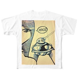 UFO!!! Full graphic T-shirts