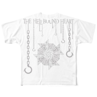 THE HELLBOUND HEART(淡色ボディ用) Full graphic T-shirts