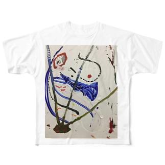 MAGICAL SEA Full graphic T-shirts