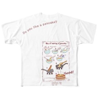 ホットケーキはお好き? Tシャツ Full graphic T-shirts