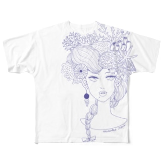 Ocean Doll Full graphic T-shirts