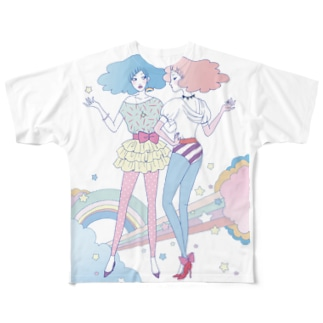 Cotton☆Candy Full graphic T-shirts