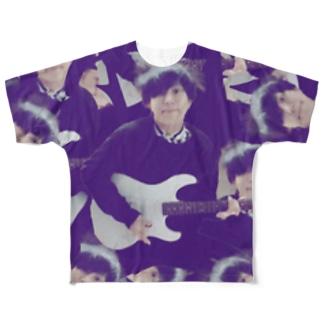 あつろうた柄T(超ダサイ) Full graphic T-shirts