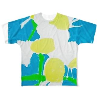 マトリカリア Full graphic T-shirts