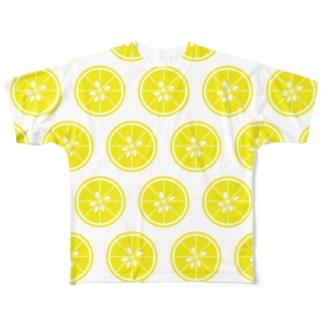 レモンじゃなくてユズです!! Full graphic T-shirts