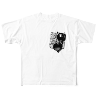 Shades in Pocket Full graphic T-shirts