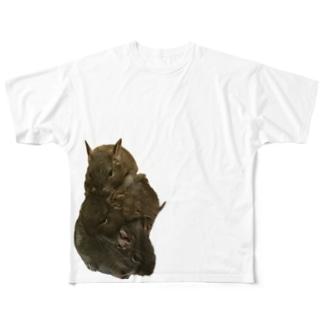 フォーメーション3 Full graphic T-shirts